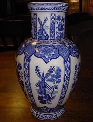 č.1274 porcelánová váza DELFT