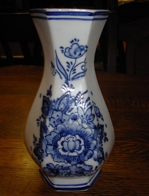 č.1232 porcelánová váza DELFT