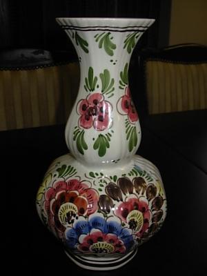 č.1393 porcelánová váza DELFT