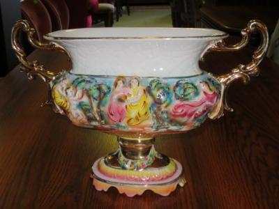 č.1221 váza CAPODIMONTE