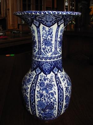 č.273 porcelánová váza DELFTS