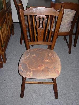 č.1327  židle čalouněná