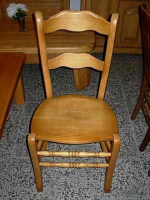 č.4 židle masiv dub