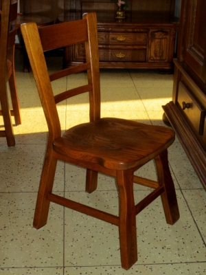 č.2504 židle masiv dub
