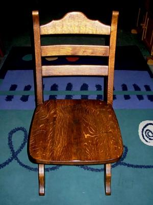 č.2507 židle masiv dub