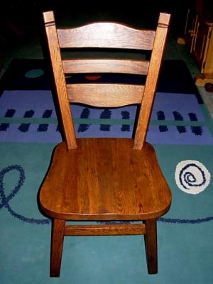 č.2508 židle masiv dub