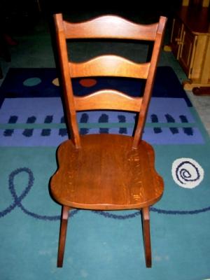 č.2517 židle masiv dub