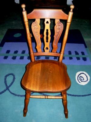 č.2522 židle masiv dub