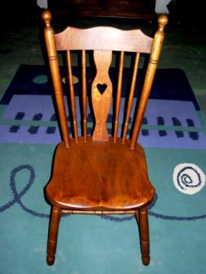 č.2525 židle masiv dub