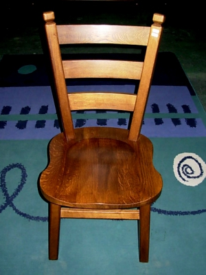 č.2530 židle masiv dub