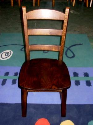 č.2563 židle masiv dub