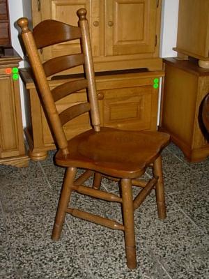 č.1618 židle masiv dub