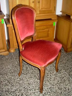 č.1592 židle čalouněná