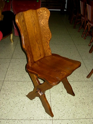 č.994 židle masiv dub