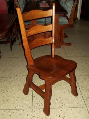 č.1138 židle masiv dub