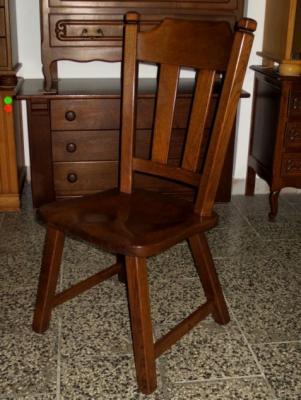 č.1627 židle masiv dub