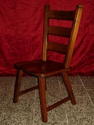 č.203 židle masiv dub