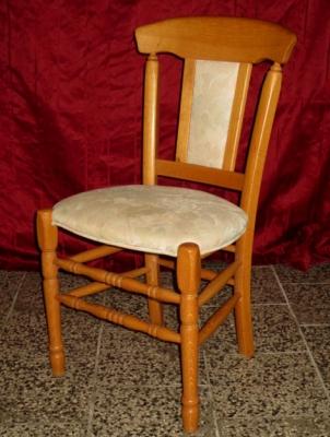č.1704 židle čalouněná