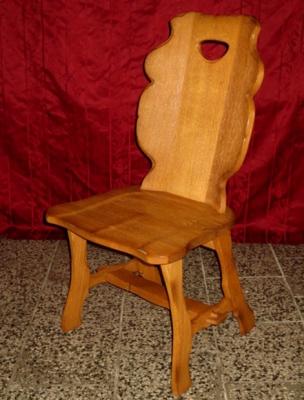 č.1705 židle masiv dub
