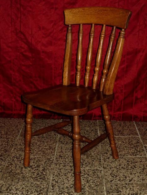 č.1708 židle masiv dub