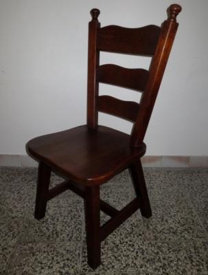 č.791, židle masiv dub
