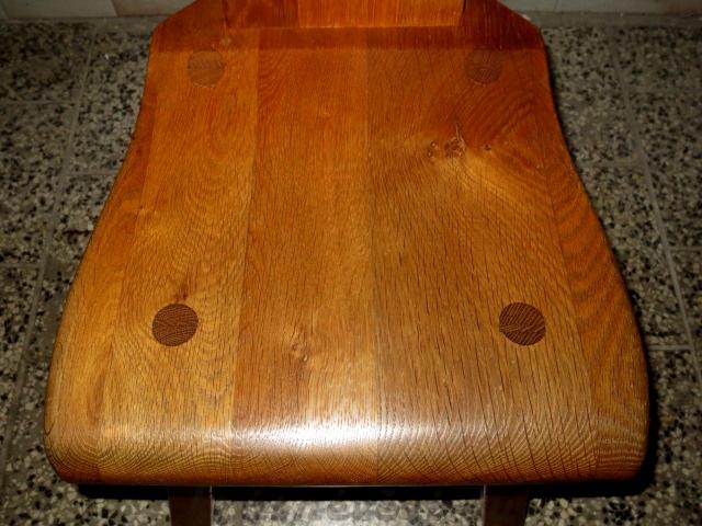 č.1795 židle masiv dub