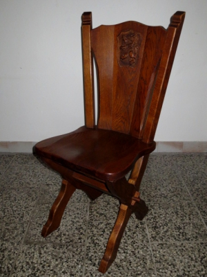č.1796 židle masiv dub