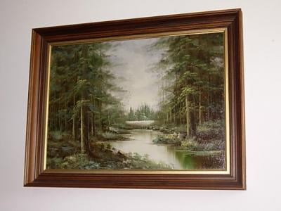 č.1135 obraz olej 83x64 cm