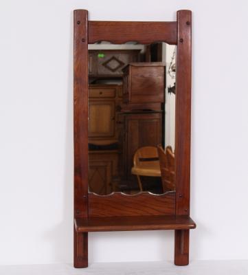 č.723 zrcadlo s policí 40x88 cm