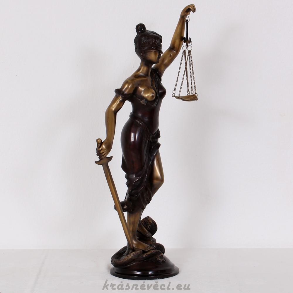 č.648 socha spravedlnosti 85 cm