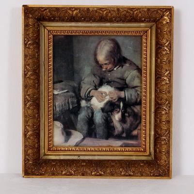 č.1428 obraz 34x39 cm
