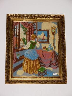 č.1267 obraz výšivka 41x48 cm