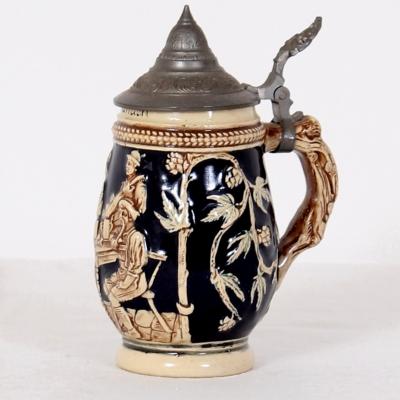 č.846 keramický korbel 0,3 litru
