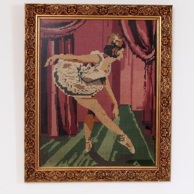 č.1464 obraz výšivka 48x58 cm