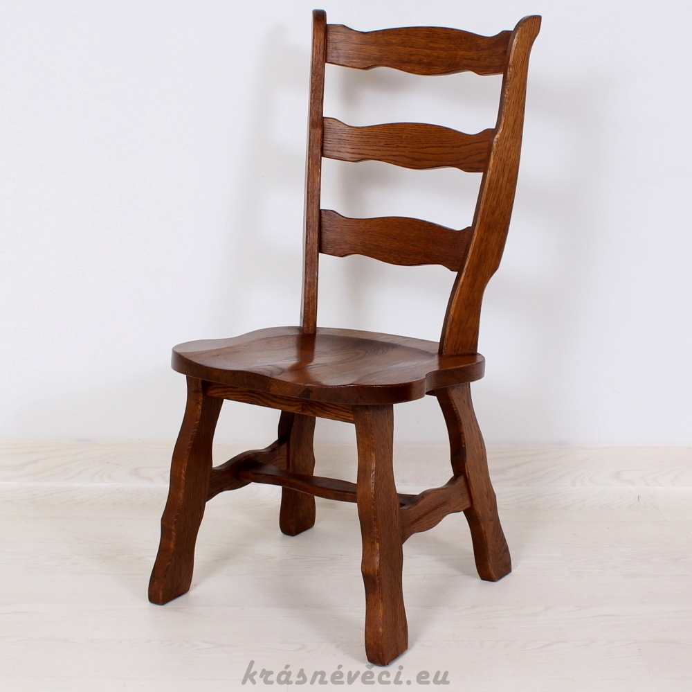č.1397 židle masiv dub