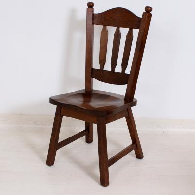 č.1742 židle masiv dub