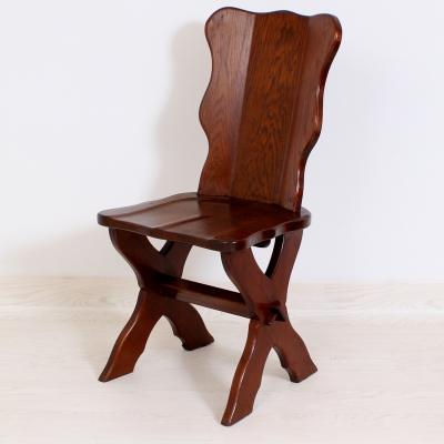 č.1568 židle masiv dub
