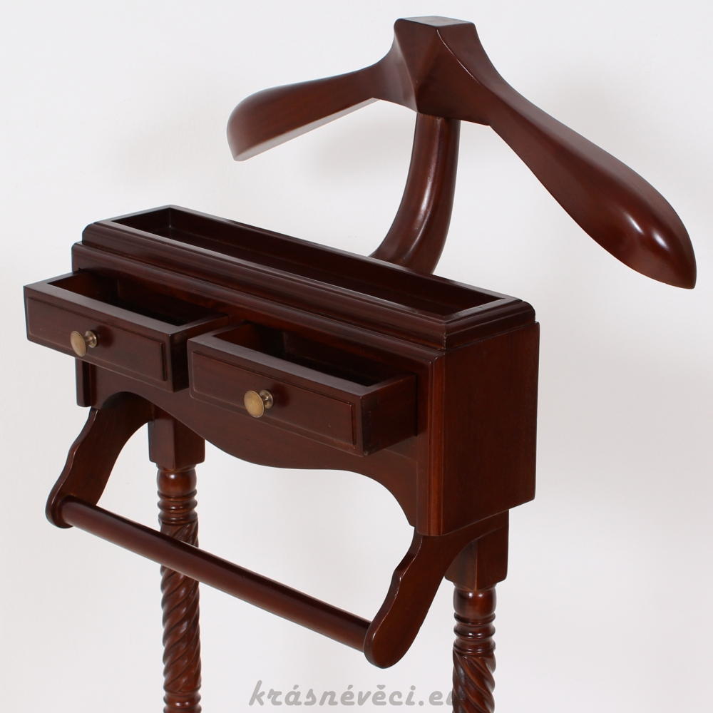 č.3099 domácí sluha dřevěný