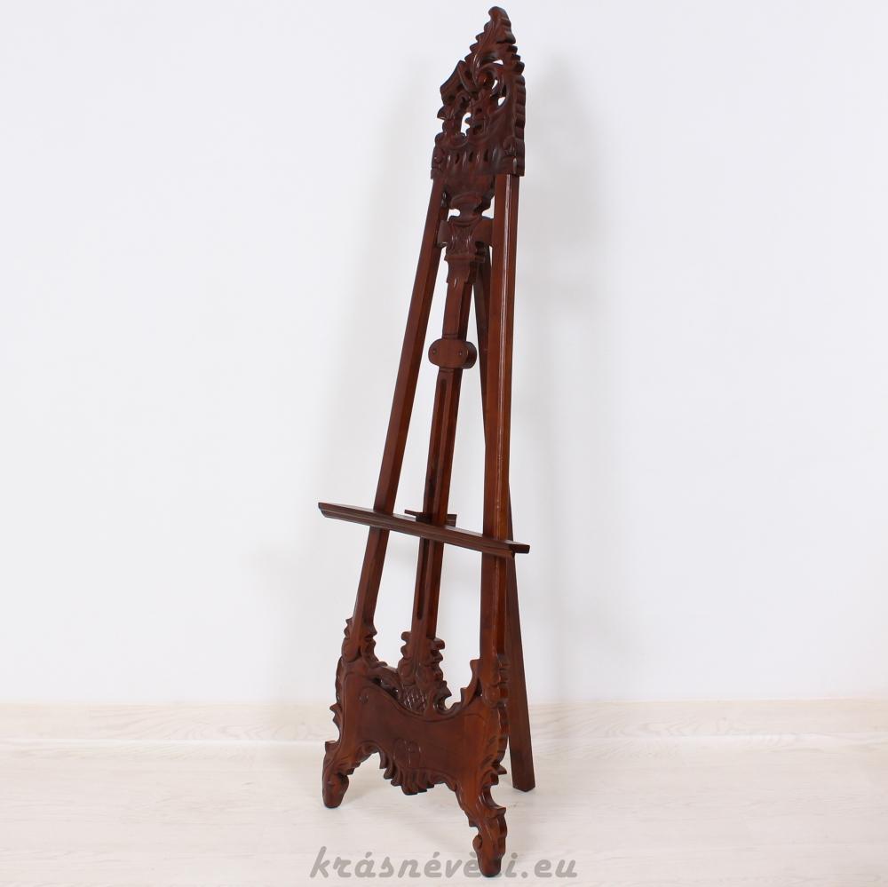 č.3100 stojan na obrazy dřevěný