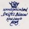 č.986 porcelánová váza DELFTS