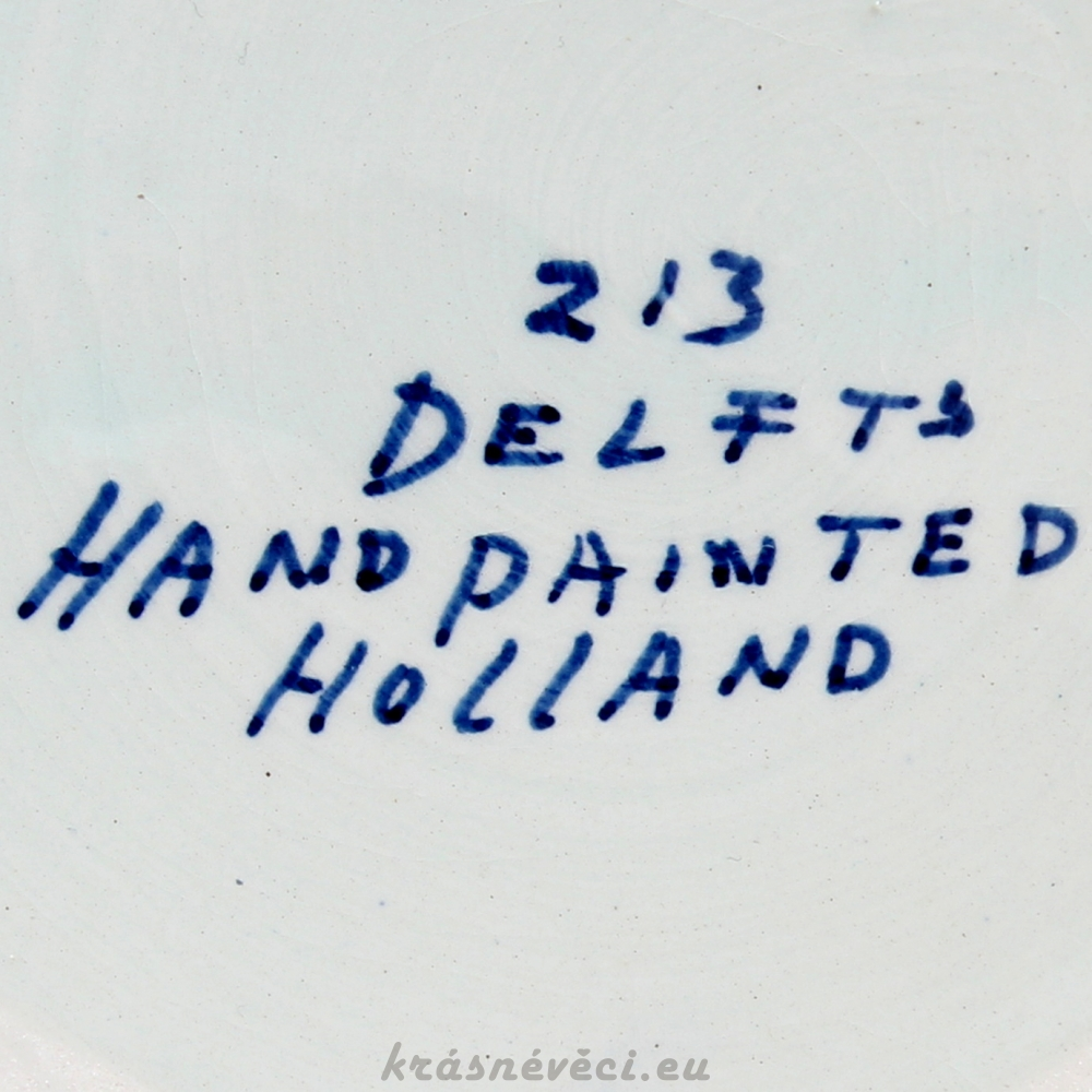č.945 porcelánová dóza DELFTS