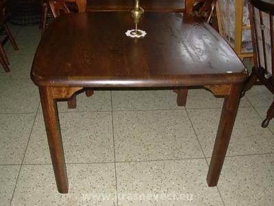 č.654 kuchyňský stůl čtvercový 110x110 cm