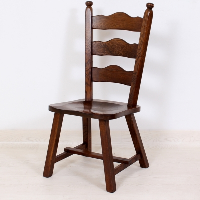 č.47 židle masiv dub
