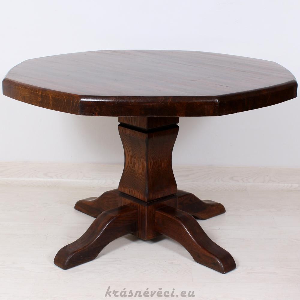 č.1936 kuchyňský stůl osmihran 118x118 cm