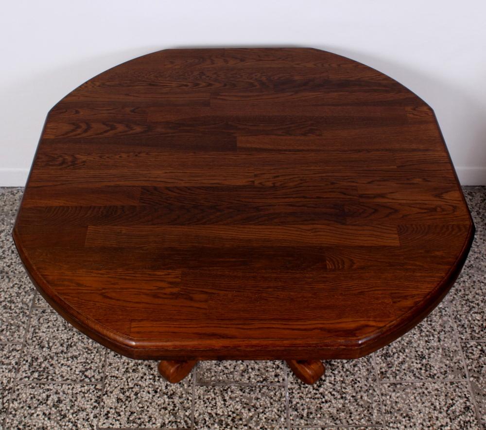 č.1934 kuchyňský stůl osmihran 130x130 cm