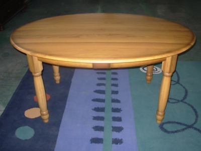 č.1505 kuchyňský stůl oválný 160x110 cm