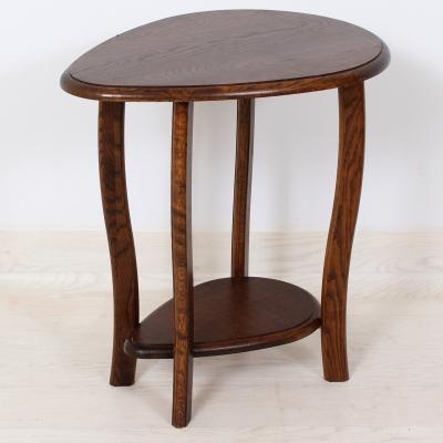 č.1638 stolík masiv dub