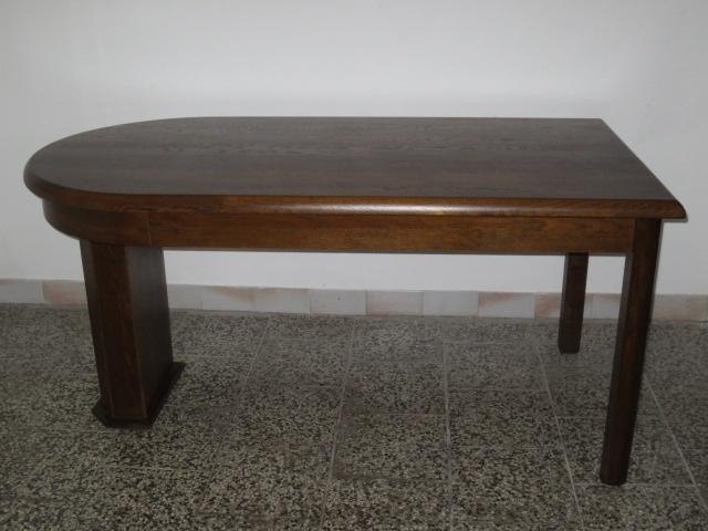 č.1508 kuchyňský stůl rozkládací 161x84 cm, 194x84 cm